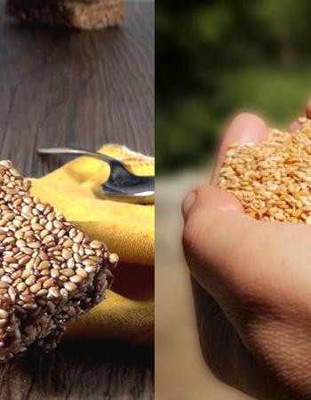Barrette di sesamo al miele: uno snack sano ed equilibrato