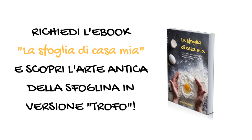 """""""La sfoglia di casa mia"""": l'eBook di Elena Castellari"""