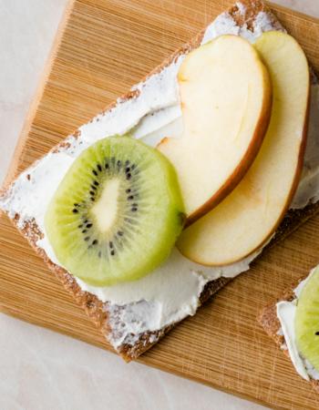 Crema di mela e yogurt greco